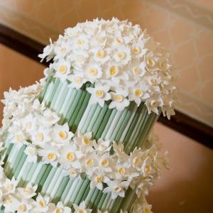 Eleanor & Bill's Wedding Cake